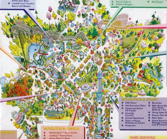 Paramounts Kings Dominion Map 2000 on mt. olympus water & theme park map, universal studios map, carowinds map, kingda ka map, silver dollar city map, six flags map, virginia map, geauga lake map, canada's wonderland map, richmond map, world map, amusement park map, valley fair map, cedar point map, knott's berry farm map, nickelodeon universe map, printable kings island 2014 map, dorney park map, nagashima spa land map, canobie lake park map,